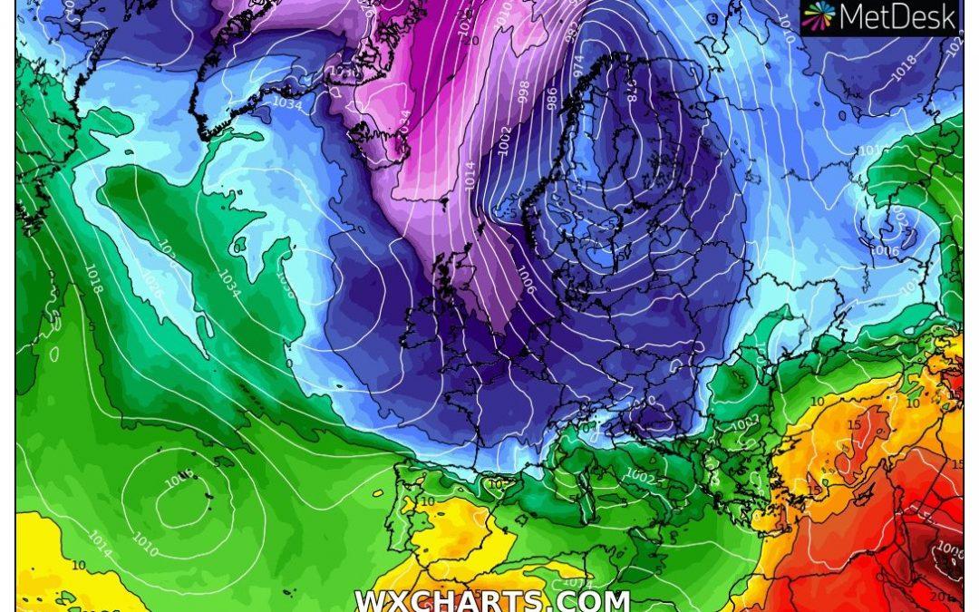 Oleada ártica deja récords de temperatura en Europa