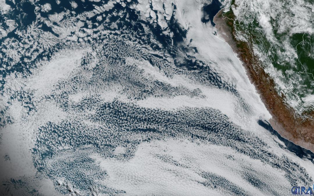 La sorprendente dinámica de las nubes actinoformes: «estratocanes».