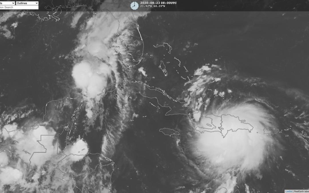 Últimas previsiones sobre los ciclones Laura y Marco