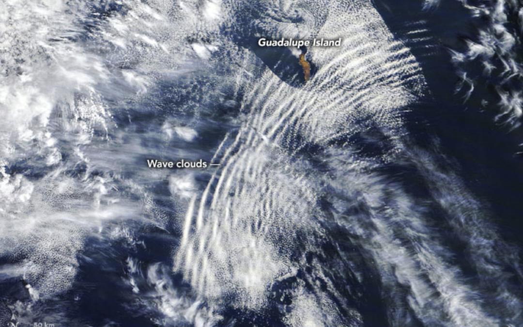 Ondas gravitatorias atmosféricas: nubes undulatus