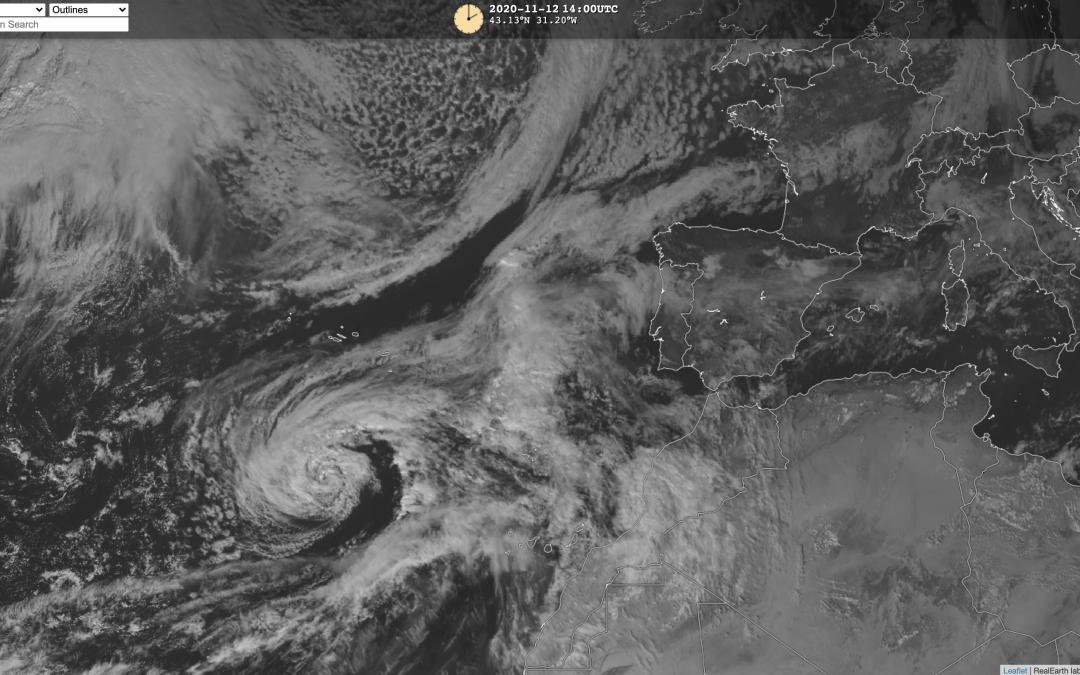 Tormenta tropical Theta: última hora