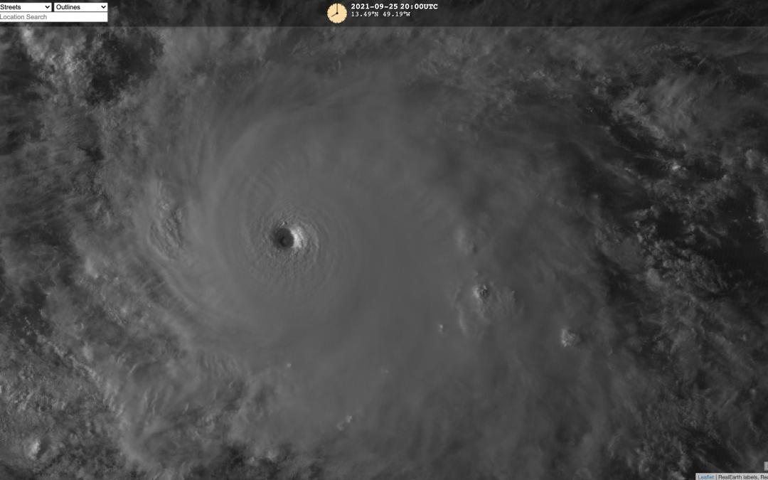 Sam y Mindulle: los dos ciclones activos más poderosos del planeta
