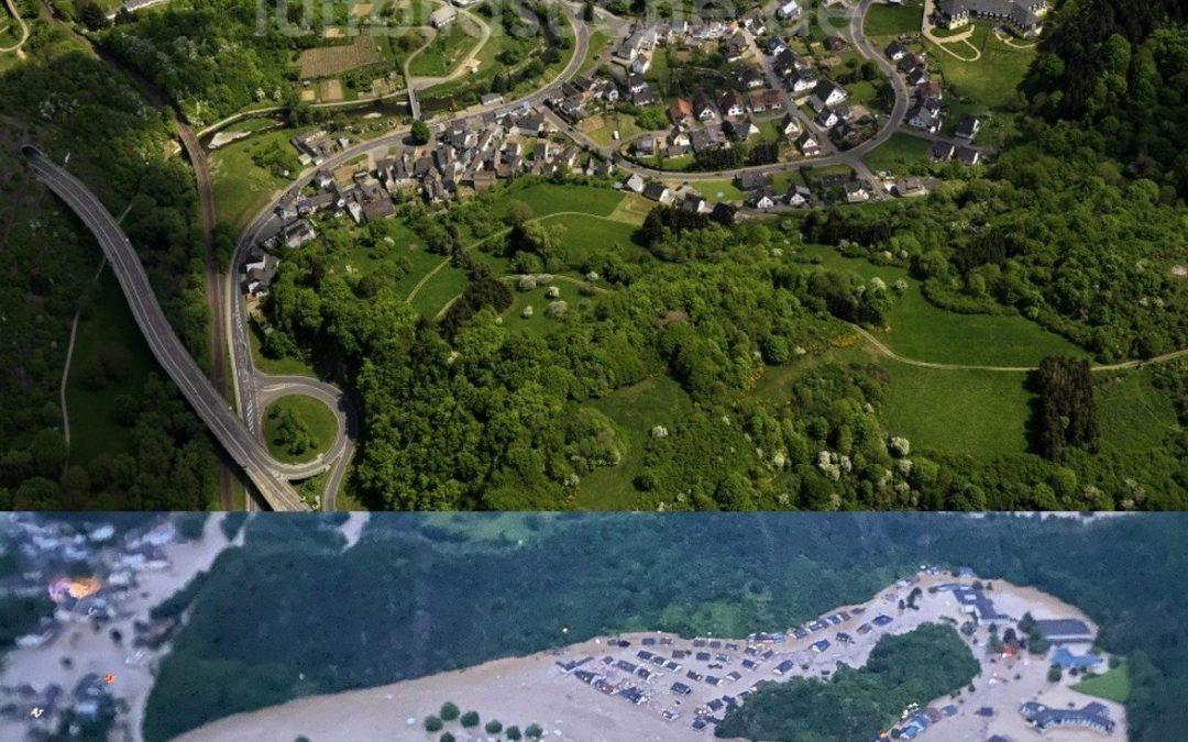 Inundaciones en el oeste de Alemania