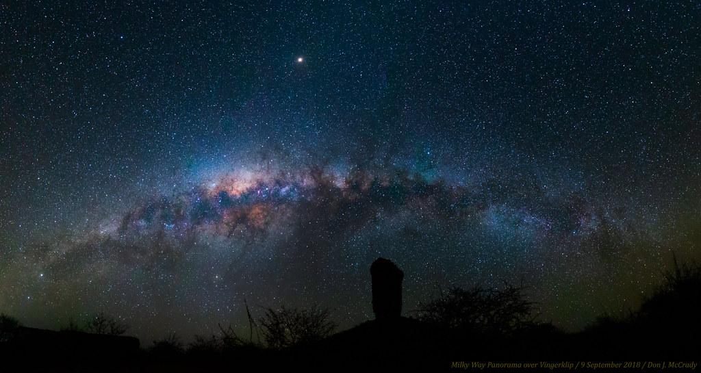 La Vía Láctea en timelapse