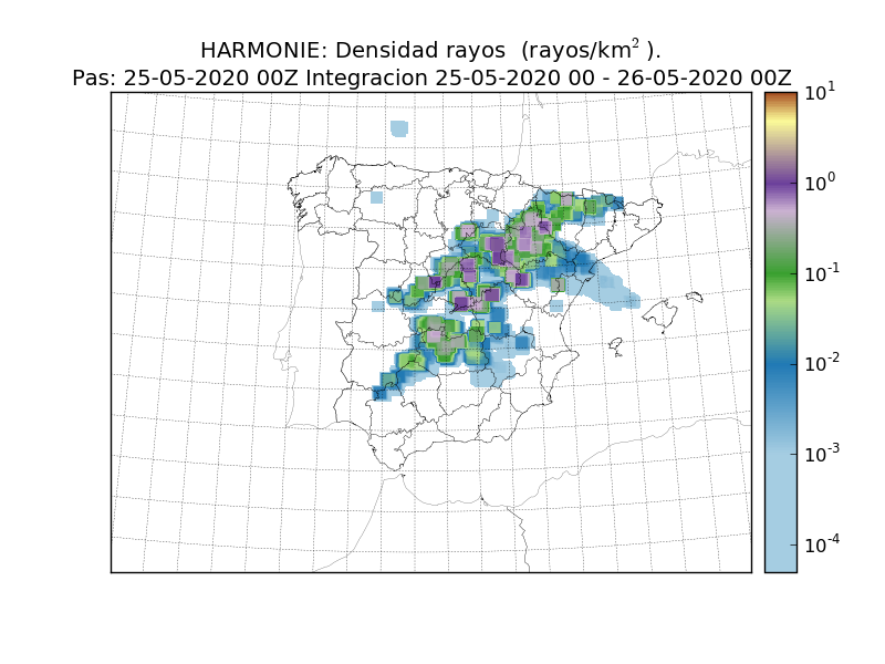 Vuelven las tormentas al interior de la Península Ibérica y después…