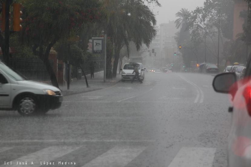 Lluvia e incidencia en los accidentes de tráfico