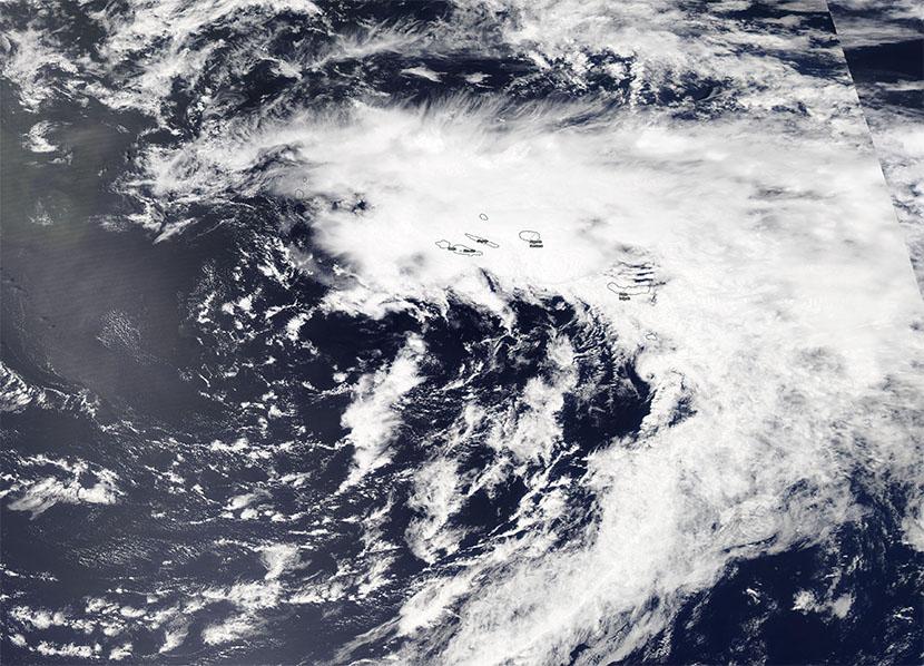 Borrasca causa un inusual temporal en Azores para un mes de junio