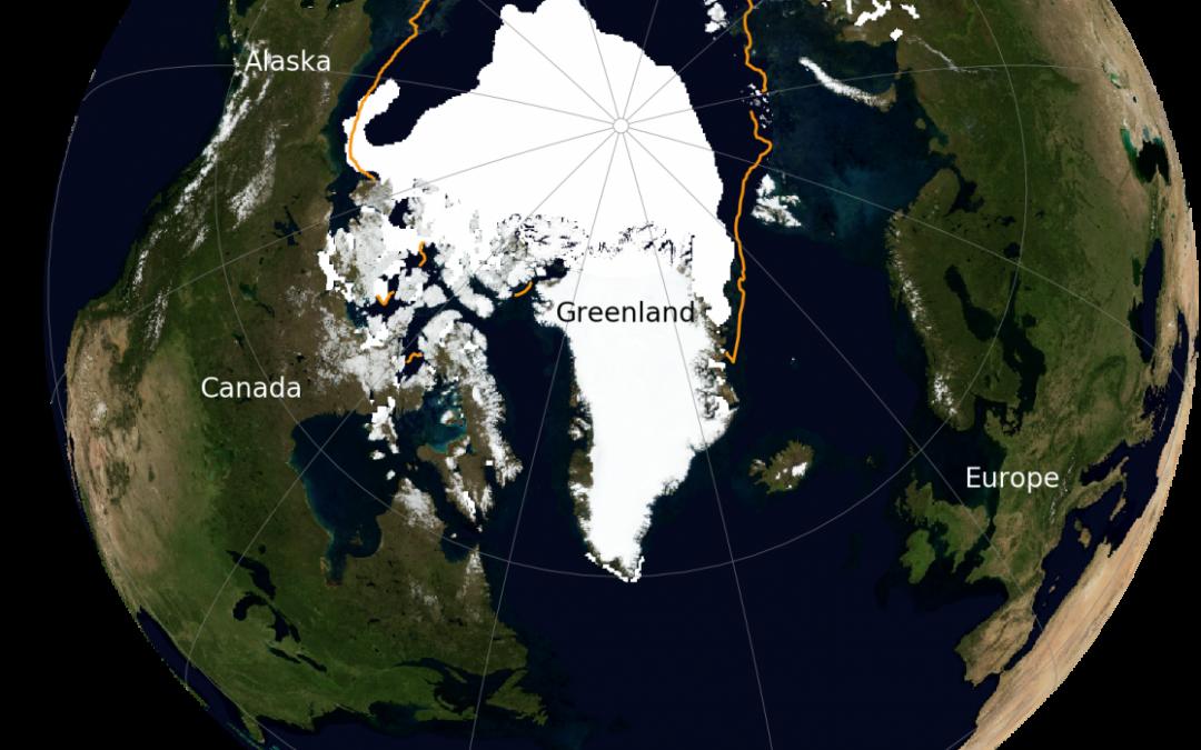 La banquisa ártica registra el 2º mínimo anual más bajo