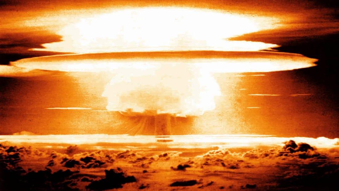 Las pruebas nucleares alteraron el patrón de lluvias