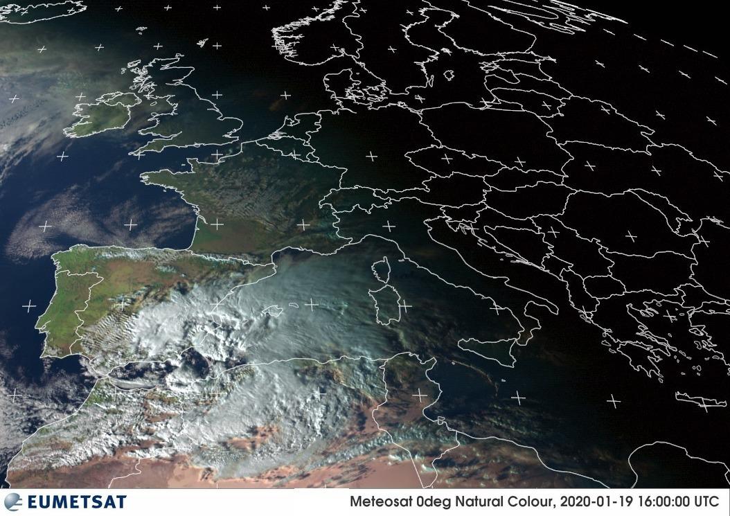 Gloria ya está en el Mediterráneo: empieza un severo temporal