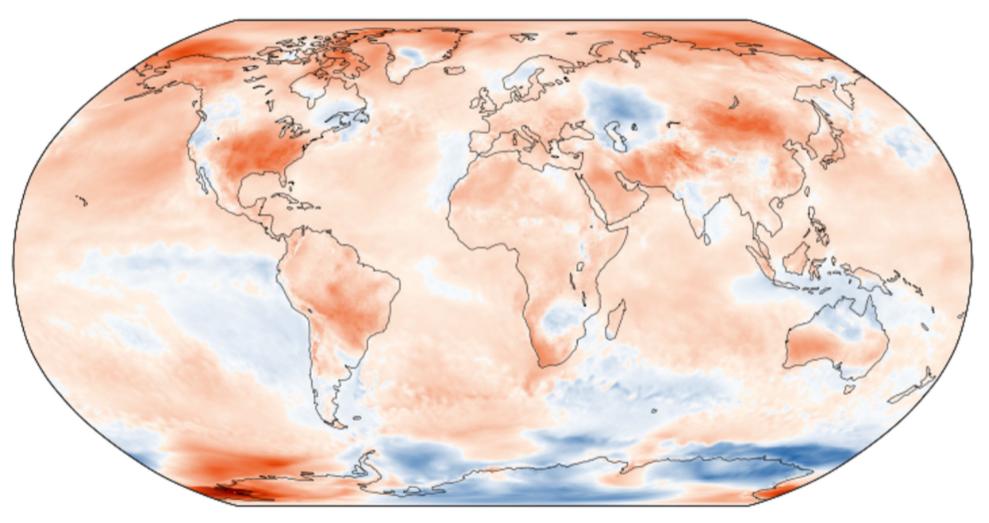 Septiembre de 2019 fue el más cálido del registro para Copernicus