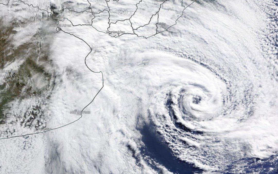 Temporada de huracanes 2021: Danny, y ciclón subtropical en el Atlántico Sur