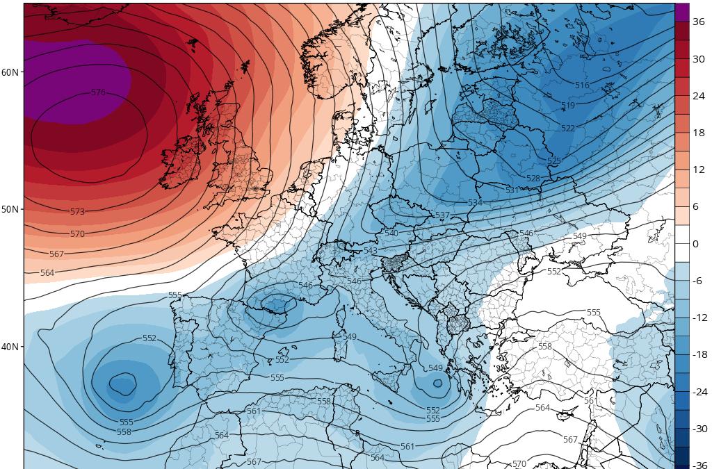 Bloqueo atmosférico: DANAs retrógradas y vuelta al tiempo invernal