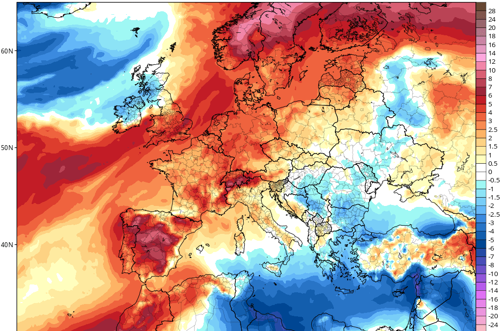 Junio 2021 de calor, y tormentas