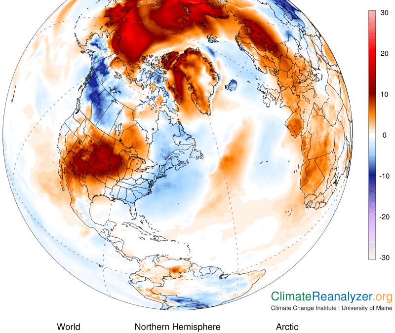 Octubre de 2020: «sólo» el cuarto más cálido