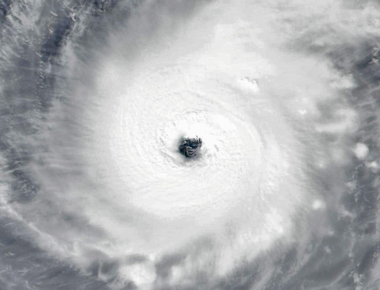 Súper tifón Halong, el más poderoso del planeta en 2019