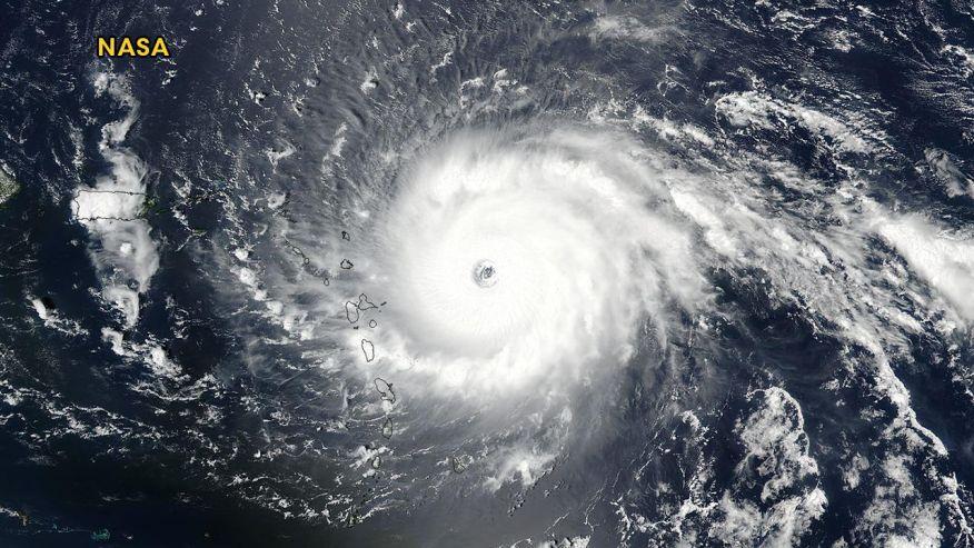 Ciclón, huracán y tifón