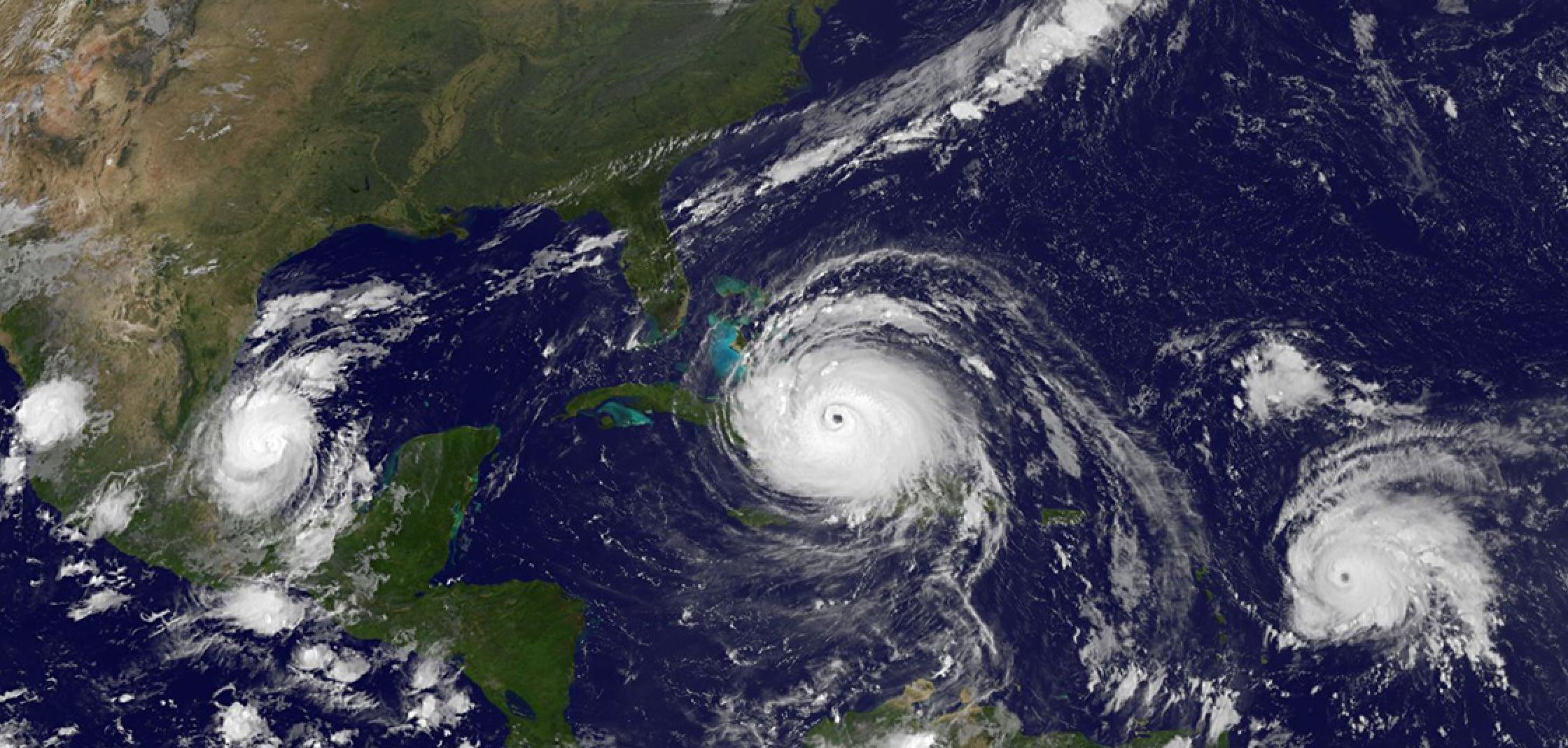 El cambio climático está influyendo sobre el comportamiento de los ciclones tropicales