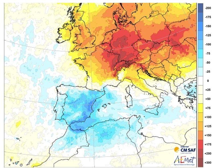 España fue el país europeo con menos horas de sol durante la cuarentena
