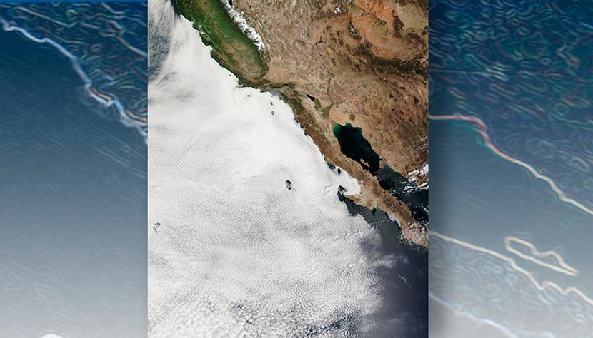 Las nubes bajas oceánicas disminuyen por el calentamiento global