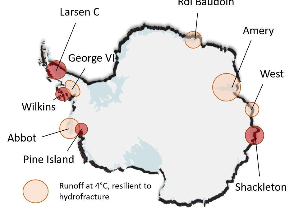 Un tercio del hielo marino antártico en grave riesgo