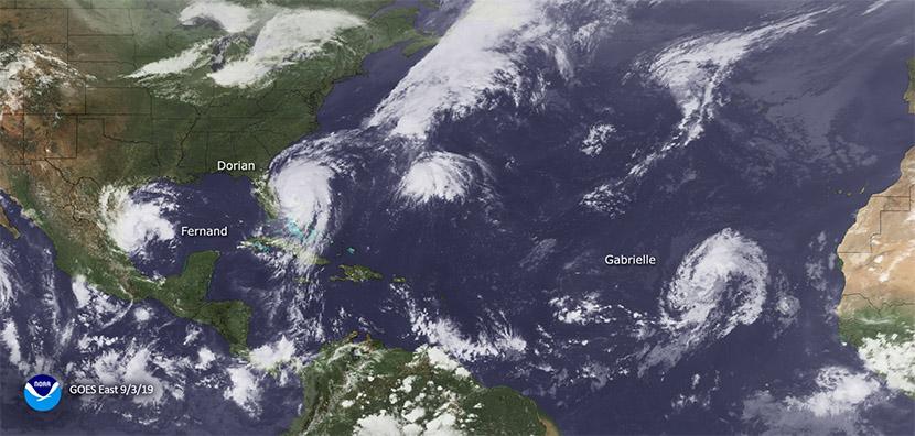 La activa temporada de huracanes atlánticos de 2019 llega a su fin.
