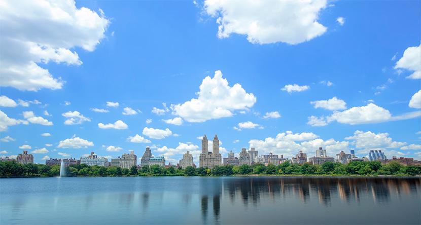 Las estaciones del año en Central Park