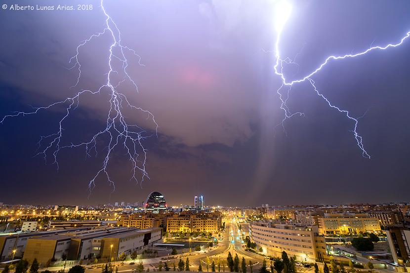 Un cazatormentas en Madrid