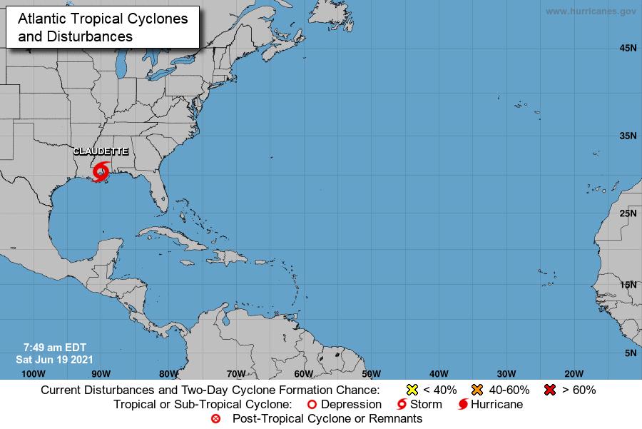 Un Atlántico en progresivo caldeamiento augura temporada 2021 muy activa