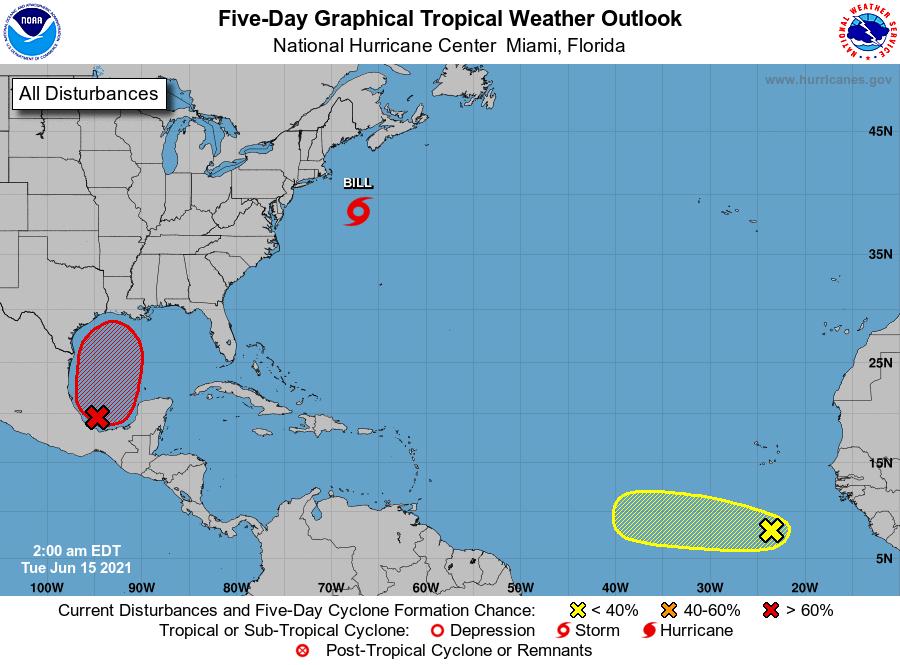 La temporada atlántica de huracanes arranca muy activa