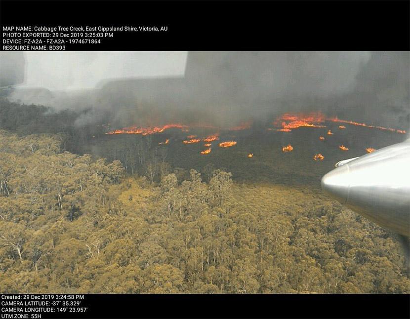 Australia agoniza entre humo y llamas